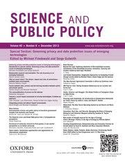 Science and Public Policy Q2 SJR 0.77