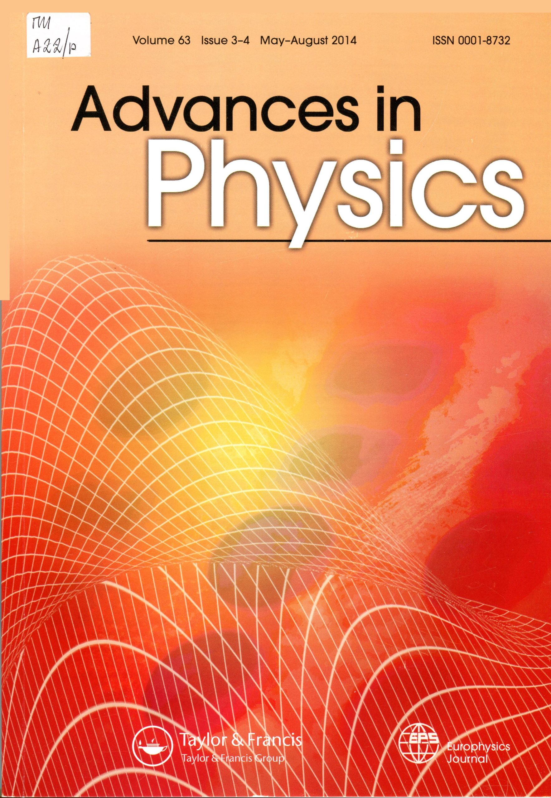 Advances in Physics